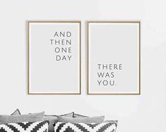 Love wall art Love quote Love print Love art And Then One Day There Was You poster Love printable art Love story quotes art Above bed print Love Wall Art, Diy Wall Art, Love Art, My Love, Pictures Above Bed, Art Above Bed, Story Quotes, 10 Frame, Dry Erase Markers