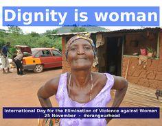 25 November  International Day for the Elimination of Violence against Women  #orangeurhood