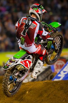 Ryan Villapoto is really good. I love riding it must be awesome racing