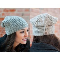 Button Flap Hat in Plymouth Homestead - F554. Discover more Patterns by Plymouth Yarn at LoveKnitting. We stock patterns, yarn, needles and books from all of your favorite brands.
