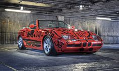 One of the BMW art cars currently in London to celebrate the Olympics. Bmw Z1, Bmw Design, Bavarian Motor Works, Neo Expressionism, Bmw Cars, Throughout The World, Famous Artists, Car Ins, Modern Classic
