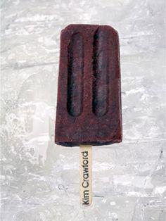 Pinot Noir Ice-Pops 5 c. blackberries 4 oz. brown cane sugar 4 oz ...