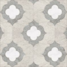 Talya Multi Finish 11 3/8x11 3/8 Irene Alav D Marble Waterjet Mosaics