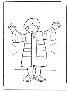 Josephs Coat Coloring Page Coat Coloring Page Coat Coloring Pages Ideas About Coat Of Many Colors On School Joseph Coat Color Page Sunday School Activities, Sunday School Lessons, Sunday School Crafts, Preschool Bible, Bible Activities, Bible Lessons For Kids, Bible For Kids, Toddler Bible, Sunday School Coloring Pages