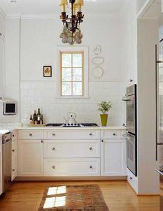 Tile Backsplash with Vintage Feel, Easy to clean