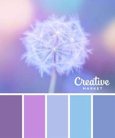 Violette / blaue Töne - #blaue #pastell #Töne #VIOLETTE