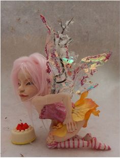 Safi Sweet Treats OOAK Fairy Fairies Art Doll by britpoprose99