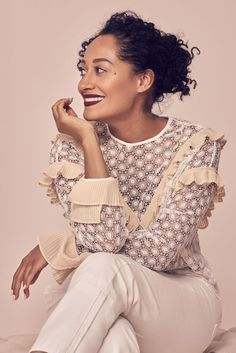 Good Housekeeping Magazine: Tracee Ellis Ross, May 2017