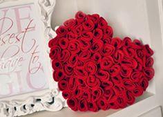 Como fazer almofada de feltro em formato de coração