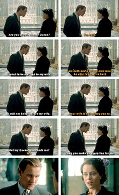 Are you my wife or my Queen? (The Crown 2016)