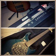 Dondi Ledesma's fretless Musicman Sterling - @rogeralcantara- #webstagram
