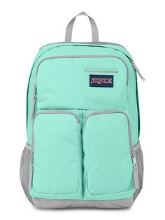 The new JanSport Women's Splice Backpack in Aqua Dash from the Digital Collection. Keep all your accessories protected with the all new Women's Splice.