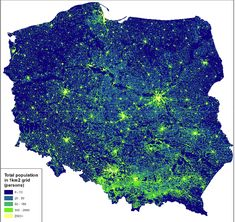 Post with 0 votes and 10567 views. Population density in Poland Poland Cities, Poland Map, Indian Hindi, Blue Green Eyes, Alternate History, Map Design, Historical Maps, Patriots, Flag