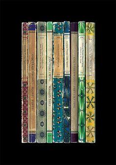 Cocteau Twins 'Victorialand' Album As Penguin Books Poster Print Literary Print