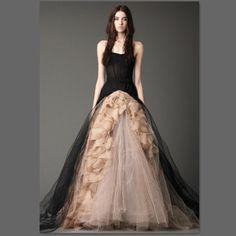 Dress / evening gown, Wedding dress / cheongsam / dress, Women's Clothing, Snow Man Vera Wang wedding dress 2013 latest style vera wang black champagne evening dress Bra