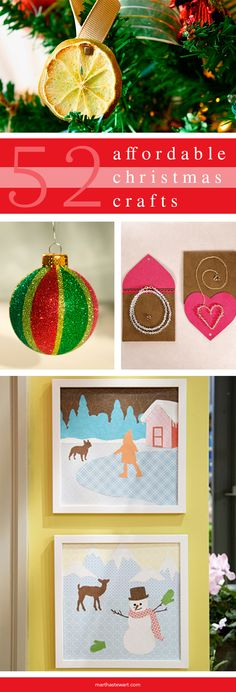This shimmering ornament craft adds inexpensive glitz to your holiday tree.