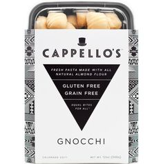 Cappellos Gnocchi | Gluten Free, Grain Free-made with almond flour!!