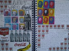 Andy Warhol a students replica Artist Research