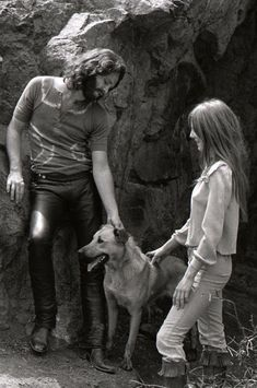 Jim Morrison and girlfriend Pamela Courson in Hollywood's Bronson Canyon Pam Morrison, The Doors Jim Morrison, Morrison Hotel, Blues Rock, Music Love, Rock Music, Pamela Courson, Rock N Roll, Ray Manzarek