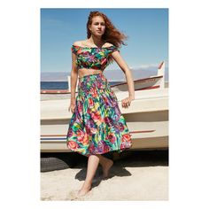 Long havana skirt combined with a sleeveless top Havana, Look Fashion, Summer Beach, Summer Outfits, Two Piece Skirt Set, Skirts, How To Wear, Dresses, Clothing