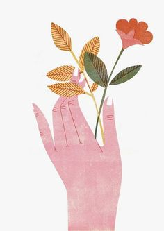Barbara Dziadosz Illustration - Today is your **almost last chance** to get my. Gravure Illustration, Illustration Photo, Plant Illustration, Pattern Illustration, Graphic Design Illustration, 4 Tattoo, Plant Drawing, Guache, Poster S