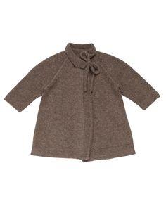 Caramel Baby & Child  Bradley Baby Coat, Brown Melange, 3m