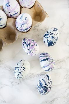 Like a kid on Easter morning, we've hunted the most creative DIY easter egg ideas from all over the www and gathered them together in one post! Enjoy!