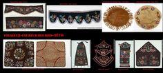 Artigianato Métis. Oggetti d'arredo, decorati con perline di vetro, nati dalla fusione delle tradizioni francesi con quelle indigene.