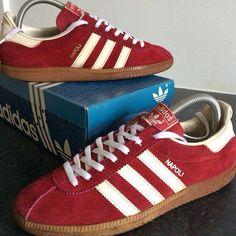 Adidas Napoli. Release: 1985s. Made in Japan. #adiporn #adidasvintage #adidasoriginals #adidasnapoli
