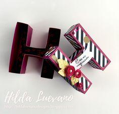 Hilda Designs: Letra 3D H en SDS
