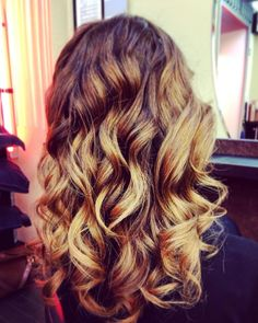 #curly #ombre #intoxication
