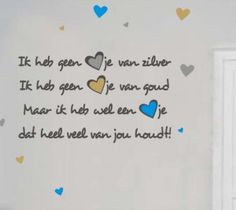 Leuk gedichtje voor moeder- of vaderdag!