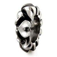 Dekorativní stříbrný Oddělovač Zamilované srdce (muzeum)Ohm Beads