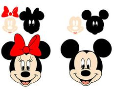 Minnie and Mickey Mouse svg in layers, download, SVG digital format, EPS, DXF, PNG. For cameo Silhouette, Cricut, cutting file, vinyl