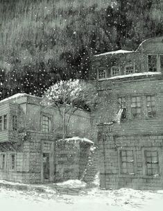 H  A  R  P  U  T / ELAZIG snow, winter  and harput Sketchbooks, Architects, Drawings, Painting, Art, Art Background, Sketch Books, Painting Art, Kunst