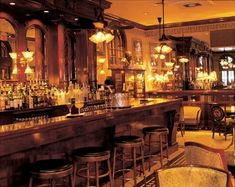 Best bars in New Orleans. Arnaud's French 75 interior Bar New Orleans New Orleans Bars, New Orleans Travel, French 75, French Colonial, French Style, New Orleans French Quarter, Bourbon Street, Wooden Bar, Rooftop Bar