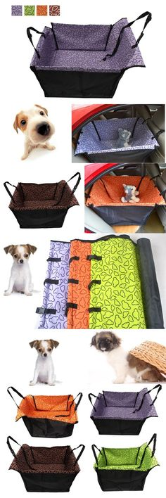 Pet Waterproof Car Rear Back Seat Carrier Cover Blanket Protector Hammock Dog Cat