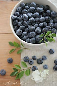 Summer is...fresh blueberries