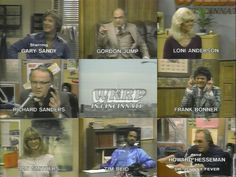 Baby, if you ever wonder. Wonder whatever became of me. Im livin on the air in Cincinnati. Cincinnati WKRP.  WKRP In Cincinnatiiiiiiii...  I'm scared that can remember that but can't remember where I put my pen a minute ago