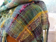 Freeform, SAORI-Inspired Weaving on the Cricket Loom – Schacht Spindle Company