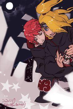 Sasori And Deidara, Madara Susanoo, Gaara, Akatsuki, Naruto Shippuden, Boruto, Animes Wallpapers, Cute Wallpapers, Another Anime