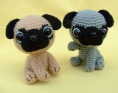 Chihuahua Tea Cup Puppy PDF Crochet Pattern by jaravee on Etsy