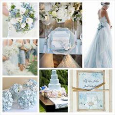 Placid Blue Wedding Pantone Spring 2014 by CBFWblog