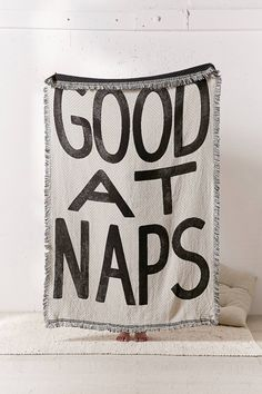 Shop Calhoun & Co. Good At Naps Throw at Urban Outfitters today. We carry all the latest styles, colors and brands for you to choose from right here.