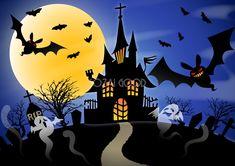 Hello Kitty Halloween, Kawaii Halloween, Halloween Cartoons, Halloween Drawings, Halloween Prints, Halloween Pictures, Halloween House, Halloween Cards, Fall Halloween