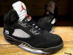 Jordan 5 black metallic