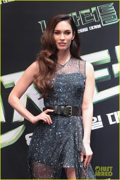Megan Fox Throws First Pitch at Seoul Baseball Game Before More 'TMNT' Press!