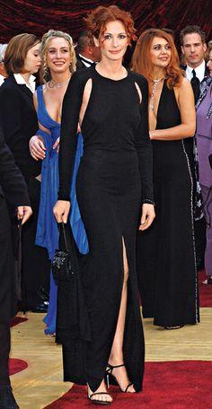 Julia Roberts in Giorgio Armani, 2002 - 200 Celebrity Looks We Love - InStyle.com