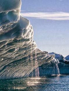 Iceberg in Disko Bay, Greenland