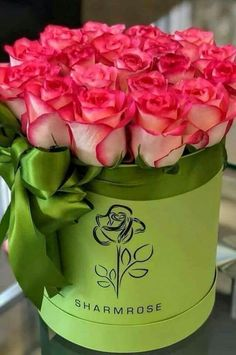 Shared by granmaster_by. Find images and videos on We Heart It - the app to get lost in what you love. Very Beautiful Flowers, Beautiful Flower Arrangements, Amazing Flowers, Flower Bouquet Boxes, Flower Box Gift, Bouquets, Luxury Flowers, Pink Flowers, Rosen Box